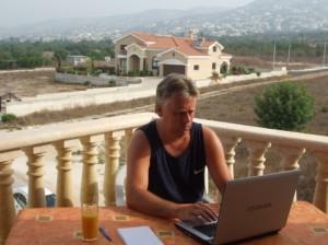 Pete Harris In Cyprus
