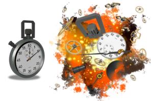 Stopwatch Exploding